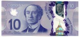Canada 10 Dollars 2013 Macklem - Poloz UNC .PL. - Canada