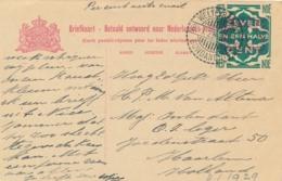Nederlands Indië - 1929 -7,5 Op 5 Cent Cijfer, Briefkaart G34A Van LB Weltevreden Gondangdia Naar Haarlem / Nederland - Nederlands-Indië