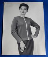 Vintage MODE/FASHION MODEL Photo, Ca. 23 X 30 Cm, Portrait Einer Hübschen Frau, Jolie Femme, Pretty Woman [19-1461] - Pin-Ups