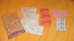 LOT DE PLUSIEURS TICKETS D'ENTREE ETRANGER..ANCIEN / AUTRICHE, MUSEUM INNSBRUCK, RHEINFALL, MAYRHOFEN, - Tickets D'entrée