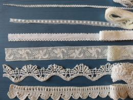478 - Broderies Ajourées Anciennes Diverses - Dentelle, Crochet, Etc… - Cross Stitch