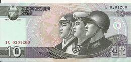 COREE DU NORD 10 WON 2009 UNC P 59 - Corée Du Nord