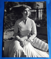 Vintage MODE/FASHION MODEL Photo, Ca. 23 X 29,5 Cm, Portrait Einer Hübschen Frau, Jolie Femme, Pretty Woman [19-1463] - Pin-Ups