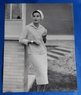 Vintage MODE/FASHION MODEL Photo, Ca. 23,5 X 30 Cm, Portrait Einer Hübschen Frau, Jolie Femme, Pretty Woman [19-1467] - Pin-Ups