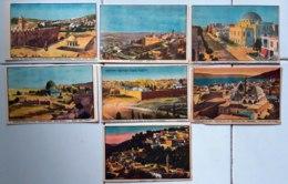 Israele 7 Old Postal Card VF/F - Israele