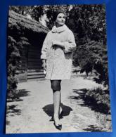 Vintage MODE/FASHION MODEL Photo, Ca. 23,5 X 30 Cm, Portrait Einer Hübschen Frau, Jolie Femme, Pretty Woman [19-1468] - Pin-Ups