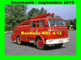 AL SP 91 - Fourgon Pompe Tonne - Berliet GAK - PONTMAIN - Mayenne - Pontmain