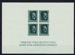 Allemagne - 1937 - Bloc-feuillet N° 9 - Non Dentelé - Neuf Sans Charnière - XX - MNH - TB - - Deutschland