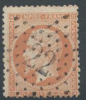 Lot N°50512  N°23, Oblit étoile Chiffrée 22 De PARIS (R. Taitbout) - 1862 Napoléon III