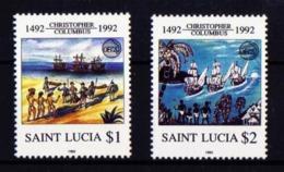 Santa Lucia 979/80 Nuevo - St.Lucia (1979-...)