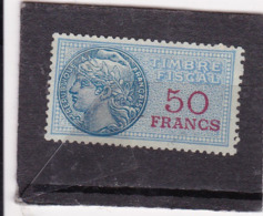 T.F.S.U N°160 - Revenue Stamps