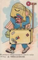 01 Virieu Le Grand. Porteur De Bagages. Carte Systeme - France