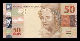 Brasil Brazil 50 Reais 2010 (2011) Pick 256b SC UNC - Brasil