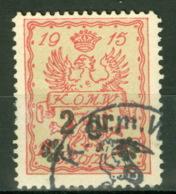 Stadtpost Warschau 9 O - Occupation 1914-18