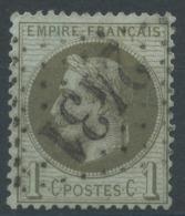Lot N°50516  N°25, Oblit GC 2431 Montbard, Côte D'Or (20), Ind 3 - 1863-1870 Napoléon III Con Laureles