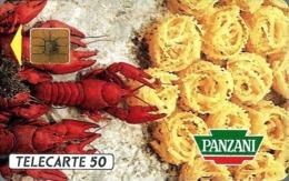 Télécarte Privée - D429 - Panzani 2 - Bouquets Et Homards - Frankreich
