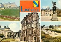 54 - Lunéville - Multivues - Blasons - Voir Scans Recto-Verso - Luneville