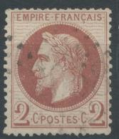 Lot N°50517  N°26B, Oblit GC 2058 Livarot, Calvados (13), Ind 4 - 1863-1870 Napoleone III Con Gli Allori
