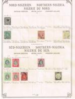 Nigérie Du Nord Ancienne Collection. Old Collection,  Altsammlung. Oude Verzameling - Sammlungen (ohne Album)