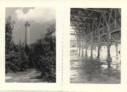 77 -MEREVILLE - 5 PHOTOS INEDITES DE PHOTOGRAPHE AMATEUR EN 1946 Voir Détails Dans La Description 2 Scans - Altri Comuni