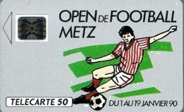 Télécarte Privée - D193 - Open De Football METZ - Frankreich