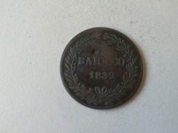 1 Baiocco 1839 - Vaticano