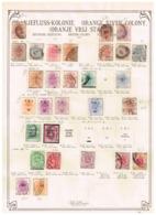Oranje Vry Staat Ancienne Collection. Old Collection,  Altsammlung. Oude Verzameling - Sammlungen (ohne Album)