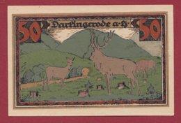 Allemagne 1 Notgeld De 50 Pfenning Stadt Darlingerode (RARE) Dans L 'état N °4724 (SERIE COMPLETE) - Collections