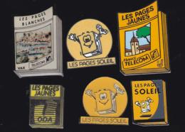 59905-lot De 6  Pin's.. PTT.la Poste.France Telecom - Postes