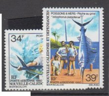 NOUVELLE CALEDONIE     1980     PA       N°   202 / 203     COTE      5 € 00         ( W 134 ) - Nuevos