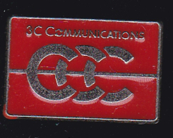 59911-  Pin's.. 3C.telephonne. Communication.signé Tosca. - France Telecom