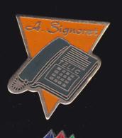 59912-  Pin's..A.signet.telic.telephonne. Communication. - France Telecom
