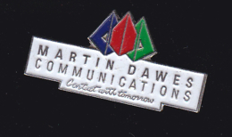 59913-  Pin's..martin Dawes.telephonne. Communication. - France Telecom