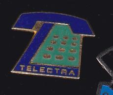 59919- Pin's.telephone.telecom.telectra.signé Tosca. - France Telecom