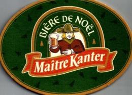 France. Bière De Noël. Maître Kanter./LOT1 - Sous-bocks