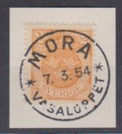 SUEDE: Timbre De 2 O. Des Années 1911-12 Oblitération Spéciale 'MORA' Du 7.3.54 En L'honneur De La 'Vasaloppet' - 2006