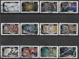 2018 FRANCE Adhésif 1570-81 Oblitérés, Cachet Rond,  ESA, Pesquet,  Série Complète - Autoadesivi