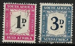 South Africa, Postage Due, 1950, 1D, 3D Used - South Africa (...-1961)