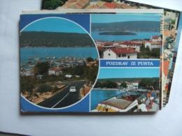 Kroatië Croatia Kroatien Croatie Pozdrav Iz Punta Punat - Kroatië