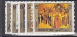 IRAQ     1983           N°   1106 / 1110     COTE      8 € 00         ( W 139 ) - Iraq