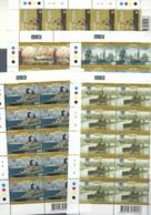 Malta - 2006 Historical Ships 5 Full Sheetlets Of 10 MNH - Malta