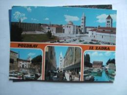 Kroatië Croatia Kroatien Croatie Pozdrav Iz Zadra Zadar - Kroatië