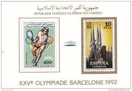 Comores Hb Michel 255A Al 260A - Zomer 1992: Barcelona