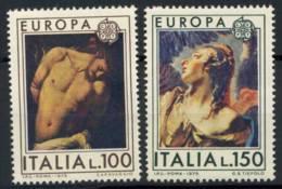 République Italie 1975 Mi. 1489-1490 Neuf ** 100% CEPT - 6. 1946-.. República