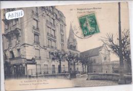 NOGENT-SUR-MARNE- MAISON D ARCHITECTES G. NACHBAUR ET SES FILS- ET CAFE OU ON Y BOIT DE LA BIERE LA CHAMPENOISE - Nogent Sur Marne