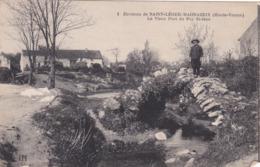 Cpa 1 ENVIRONS DE SAINT LEGER MAGNAZEIX LE VIEUX PONT DU PUY SAINT JEAN Carte Vierge - France