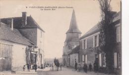 Cpa 4 SAINT LEGER MAGNAZEIX LA GRANDE RUE  Carte Vierge - France