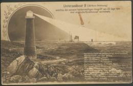 Feldpost  -Karte  Unterseeboot  9 - Krieg