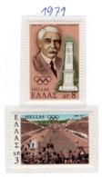 SPORT - OLYMPIC GAMES - 1971 -  GRECIA - Mi. Nr.  1071/72 - NH - (6532-39) - Grecia