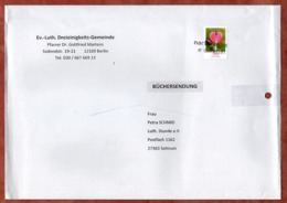 Buechersendung, Traenendes Herz, Berlin Nach Sottrum, Nachtraeglich Entwertet, Ca. 2016 (79020) - BRD